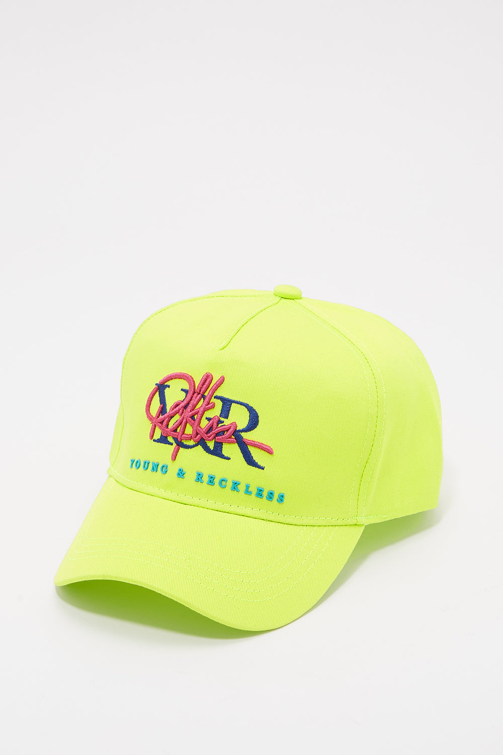 Young & Reckless Mens Retro Logo Hat Green