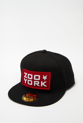 Zoo York Mens Patch Logo Snapback Hat