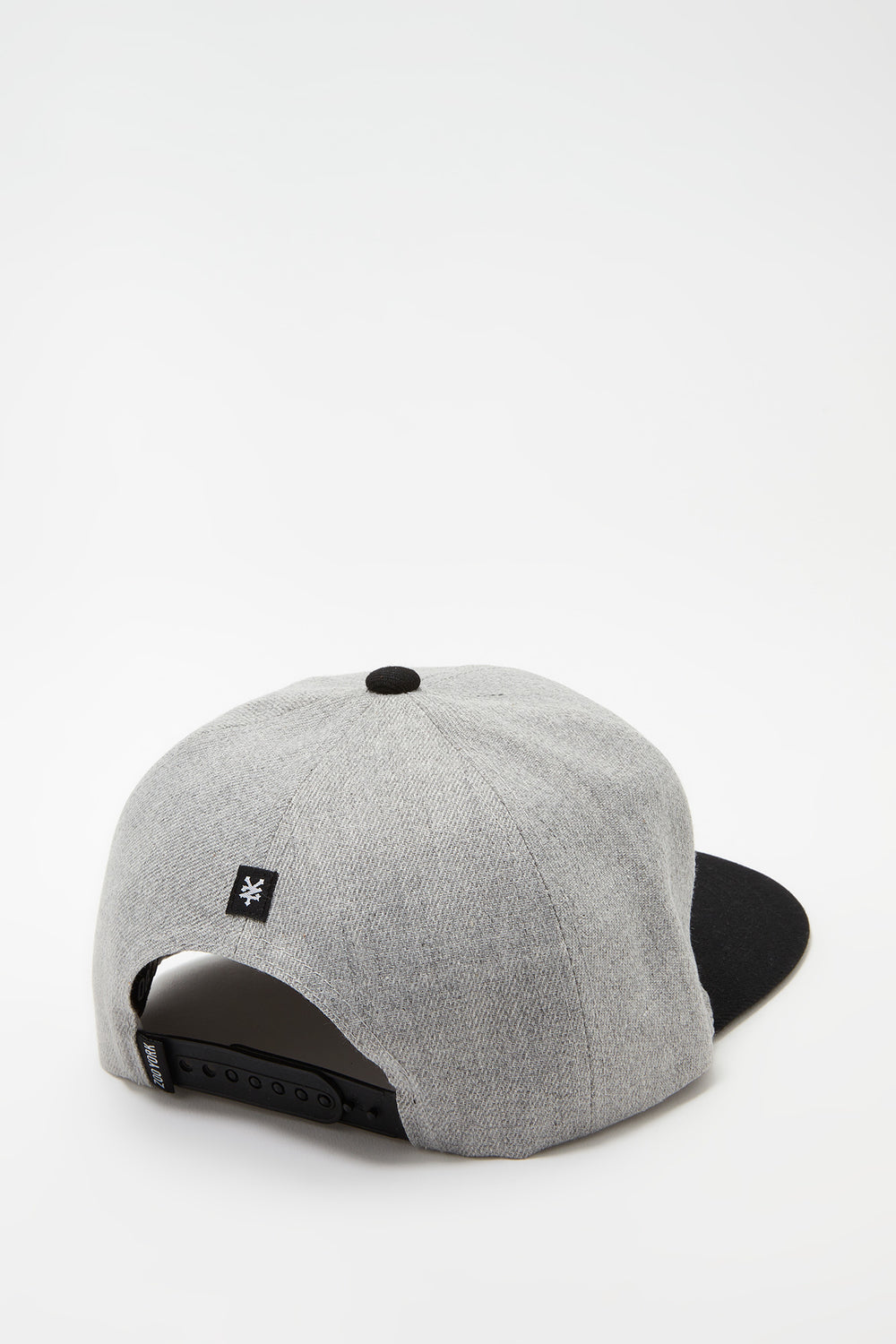 Casquette Logo Patch Zoo York Homme Gris