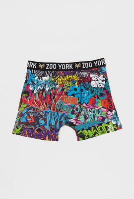 Boxeur Graffiti Zoo York Homme