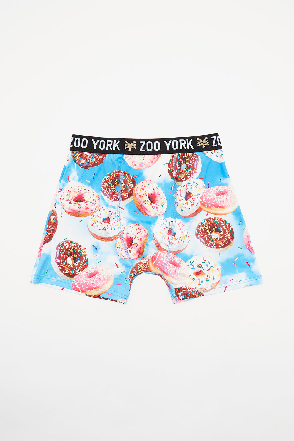Zoo York Mens Donut Cloud Boxer Brief Light Blue