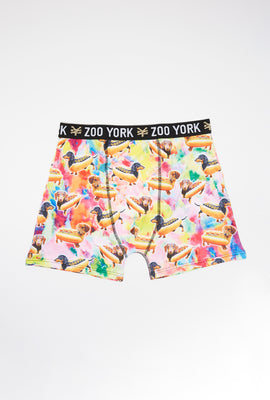 Boxer Hot Dog Zoo York Homme