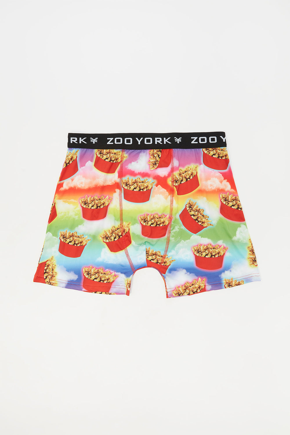 Zoo York Mens Poutine Boxer Brief Red