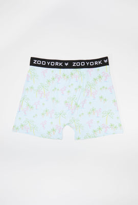 Zoo York Mens Neon Flamingo Boxer Brief