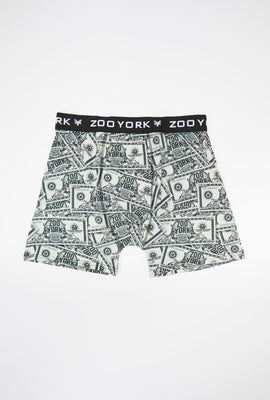Zoo York Mens Money Boxer Brief