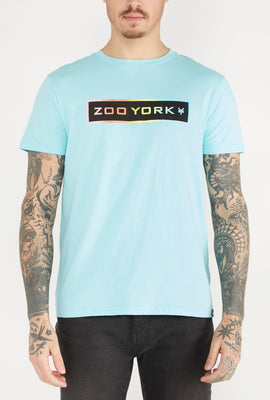 Zoo York Mens Neon Box Logo T-Shirt