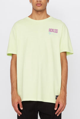 T-Shirt Fluo Young & Reckless Homme