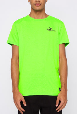 T-Shirt Fluo LA Young & Reckless Homme