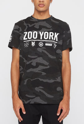 Zoo York Mens Camo Logo T-Shirt