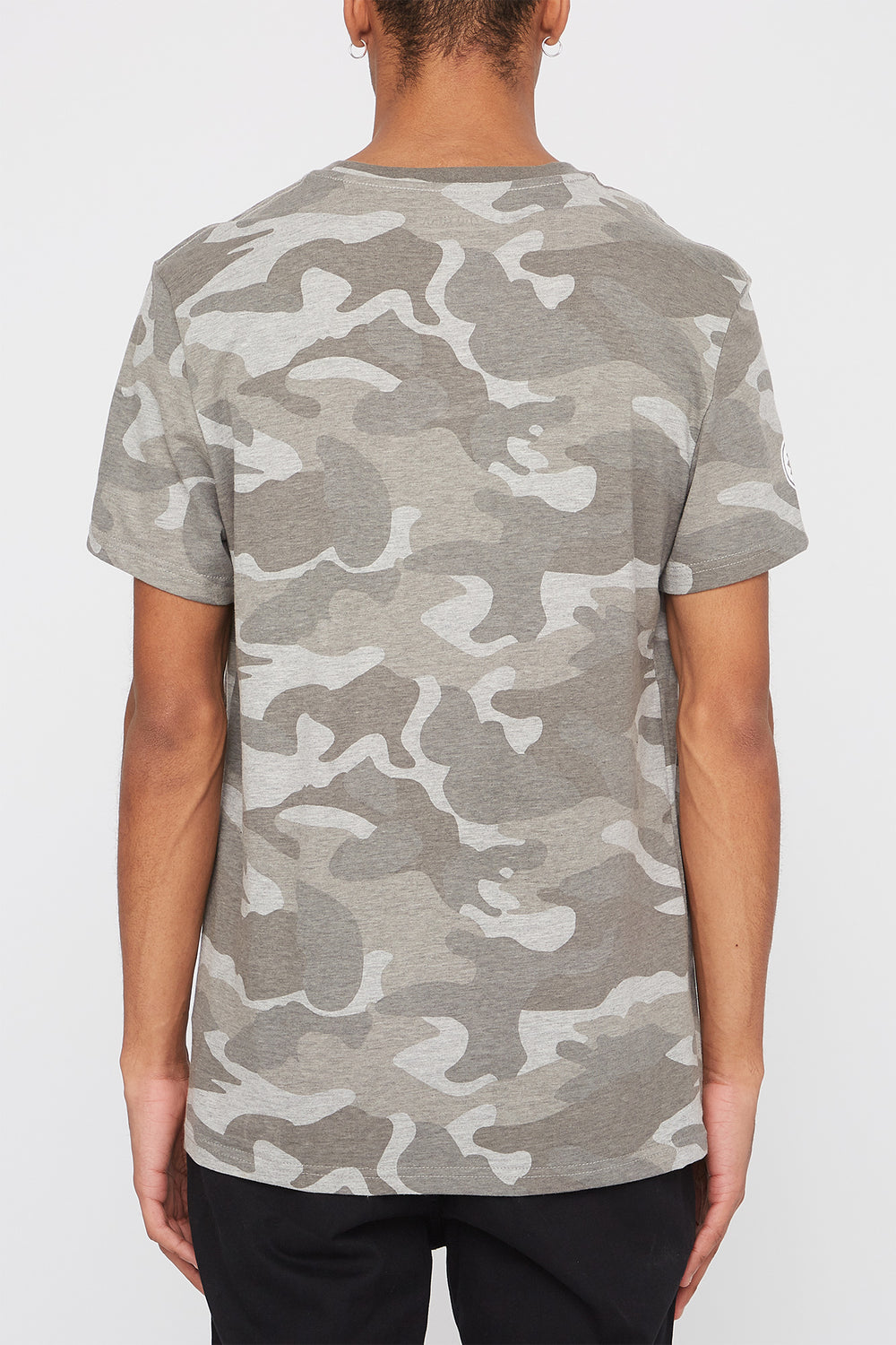 Zoo York Mens Camo Logo T-Shirt Gingham