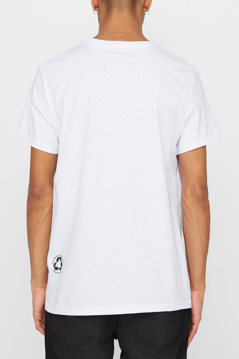 REPREVE® Mens Eco-Friendly T-Shirt White