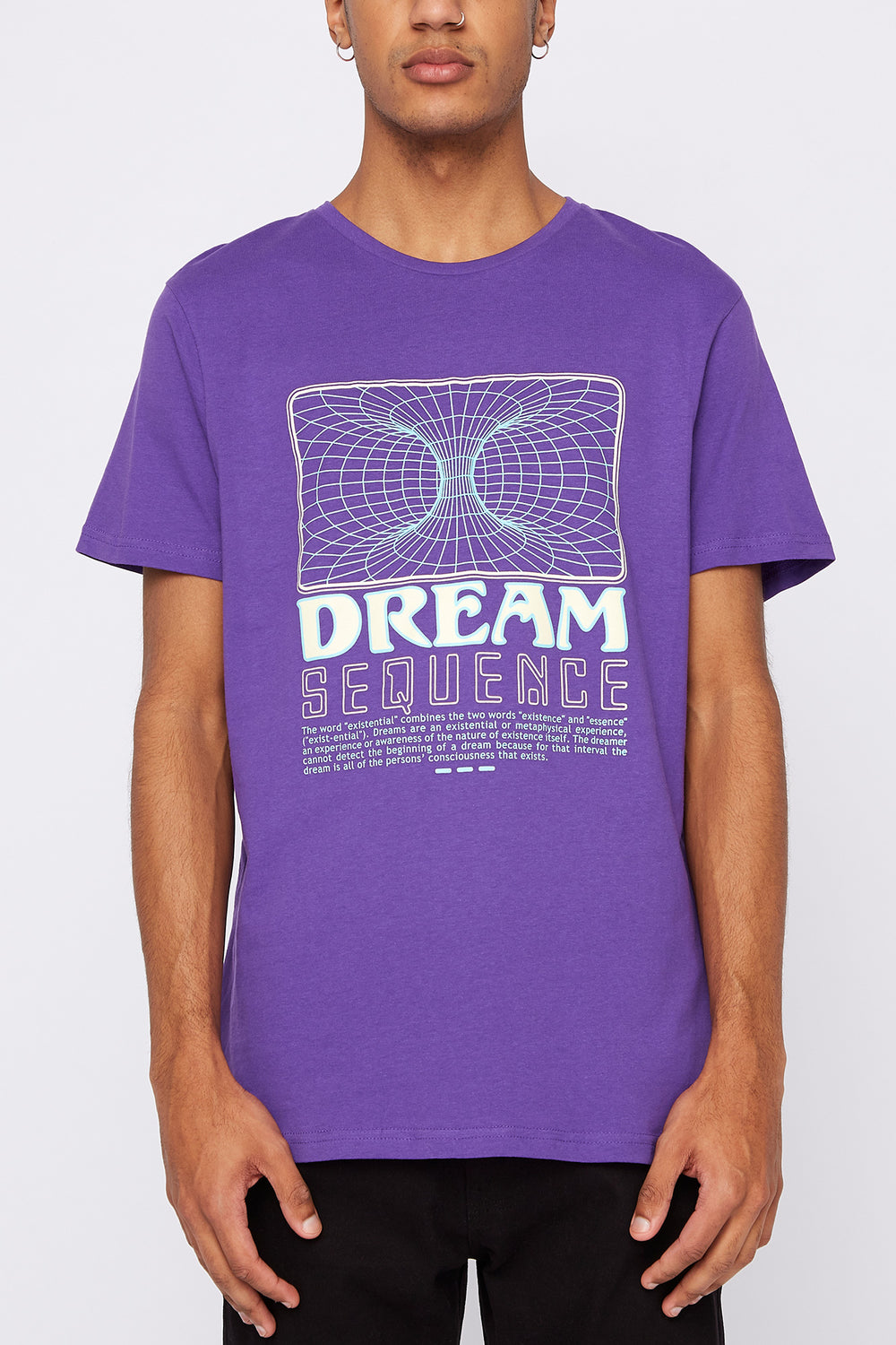 T-Shirt Dream Sequence Arsenic Homme Violet
