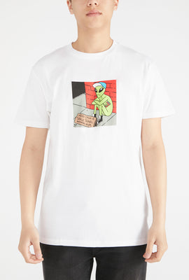 T-Shirt Extraterrestre West49 Homme