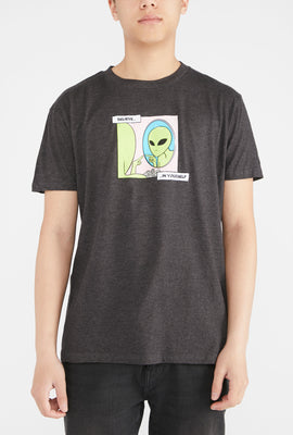 West49 Mens Alien Believe in Yourself T-Shirt