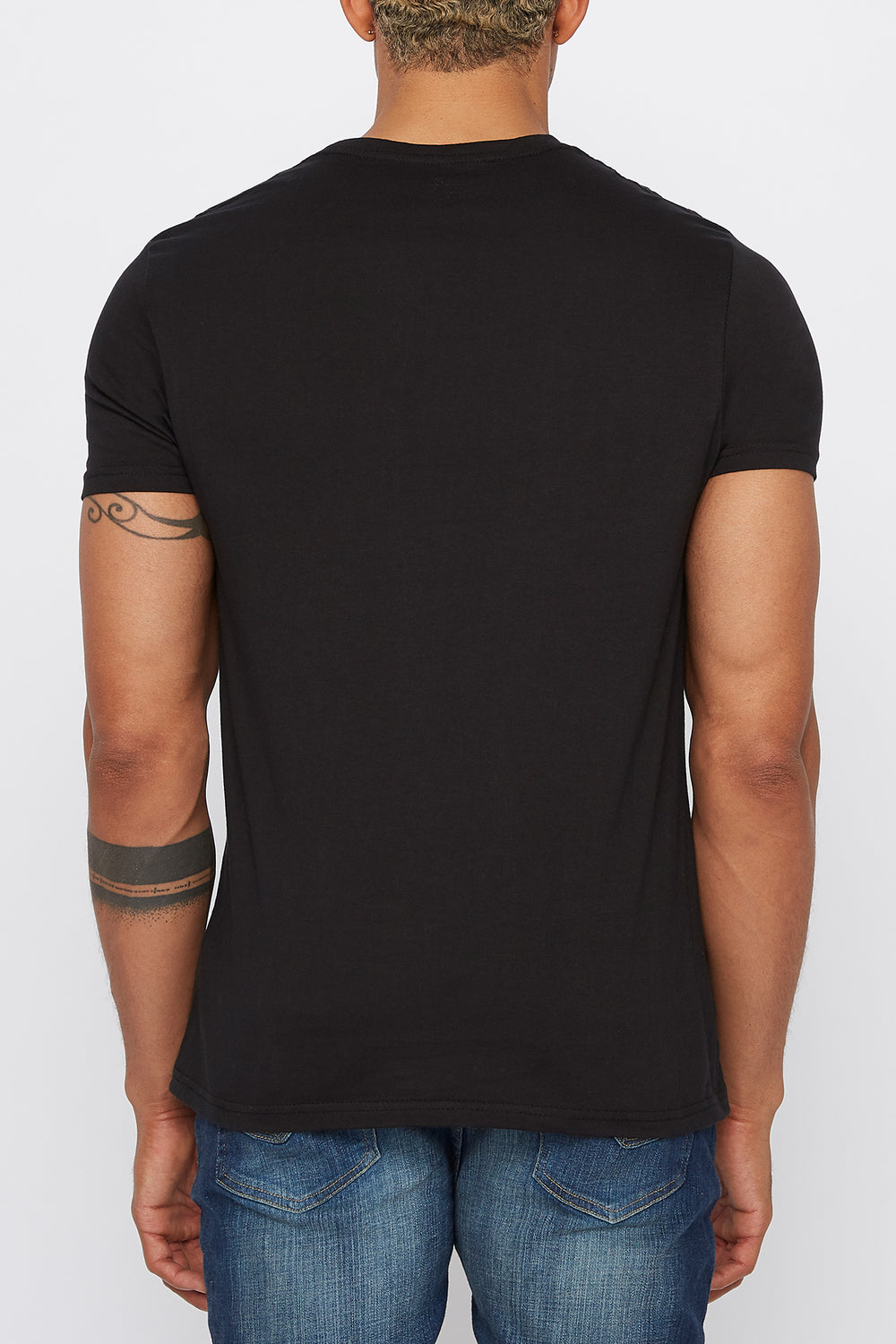 West49 Mens Box Logo T-Shirt Black