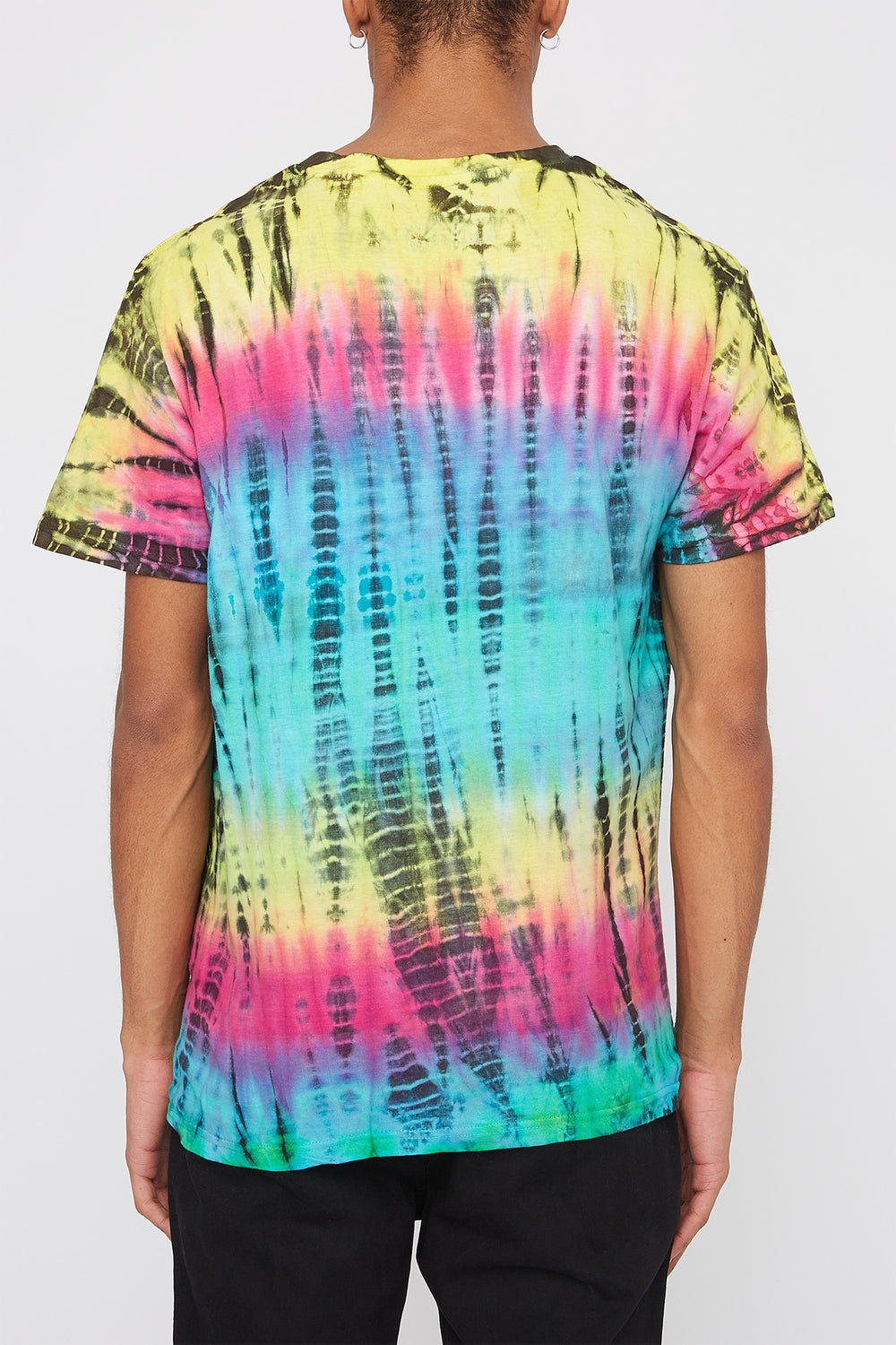 T-Shirt Tie-Dye Young & Reckless Homme Multi