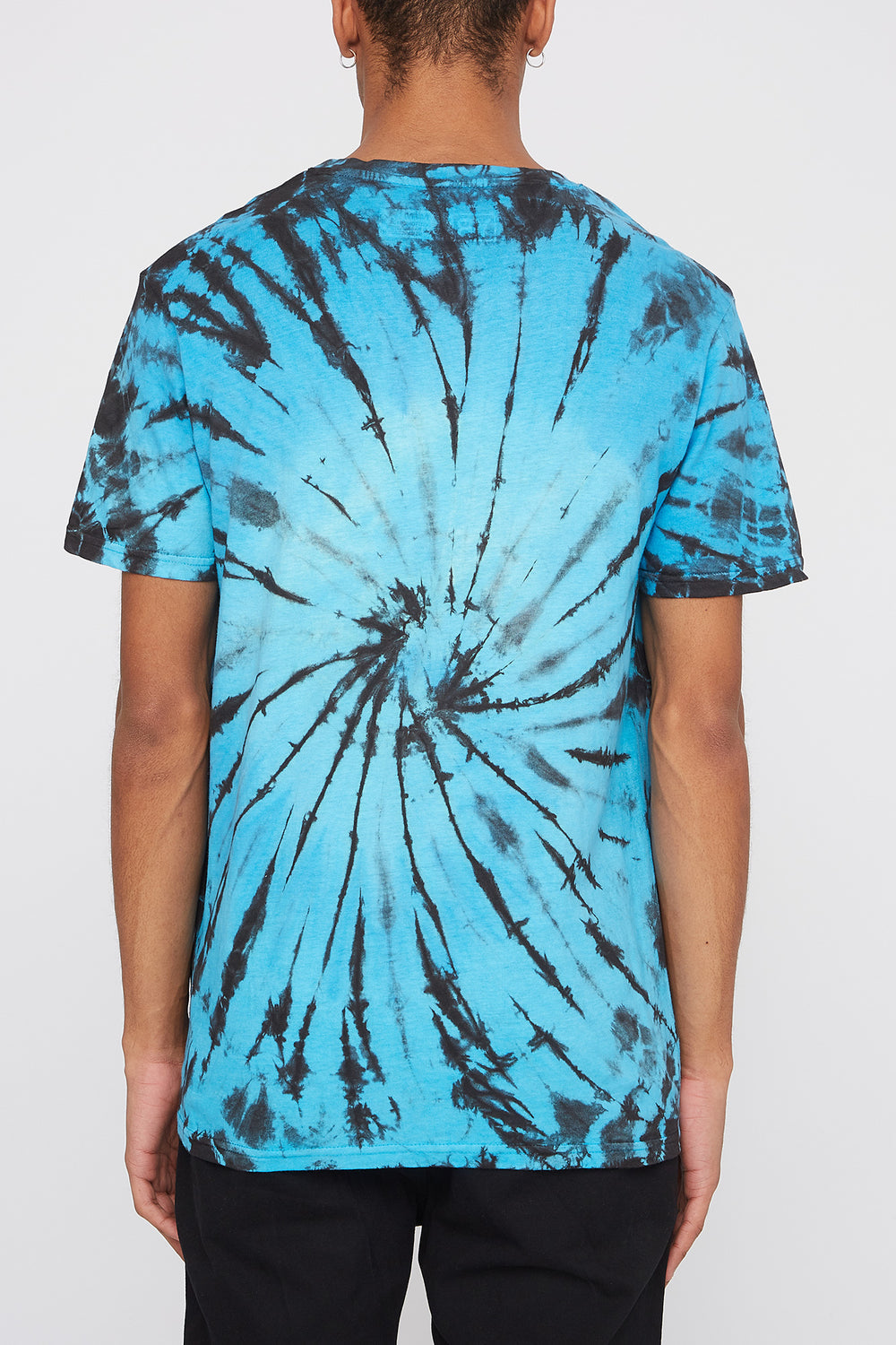 Young & Reckless Mens Tie-Dye T-Shirt Turquoise