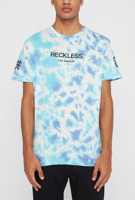 T-Shirt Tie-Dye Logo Young & Reckless Homme