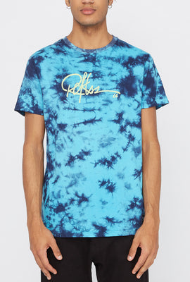 T-Shirt Tie-Dye Cities of LA Young & Reckless Homme
