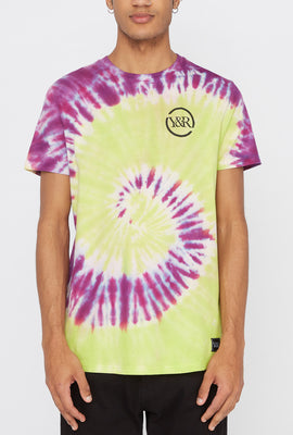 T-Shirt Tie-Dye Multi-Villes Young & Reckless Homme