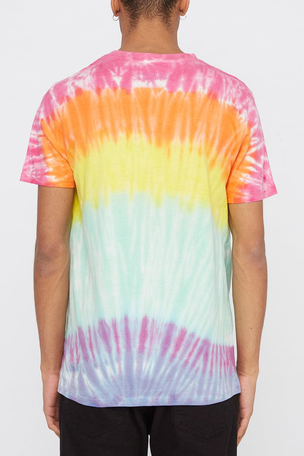T-Shirt Tie-Dye Arc-En-Ciel Zoo York Homme Multi