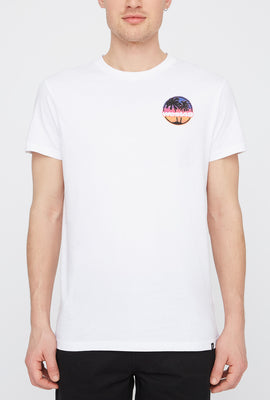 West49 Mens Sunset Logo T-Shirt