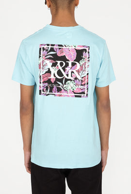 Young & Reckless Mens Neon Leaves T-Shirt