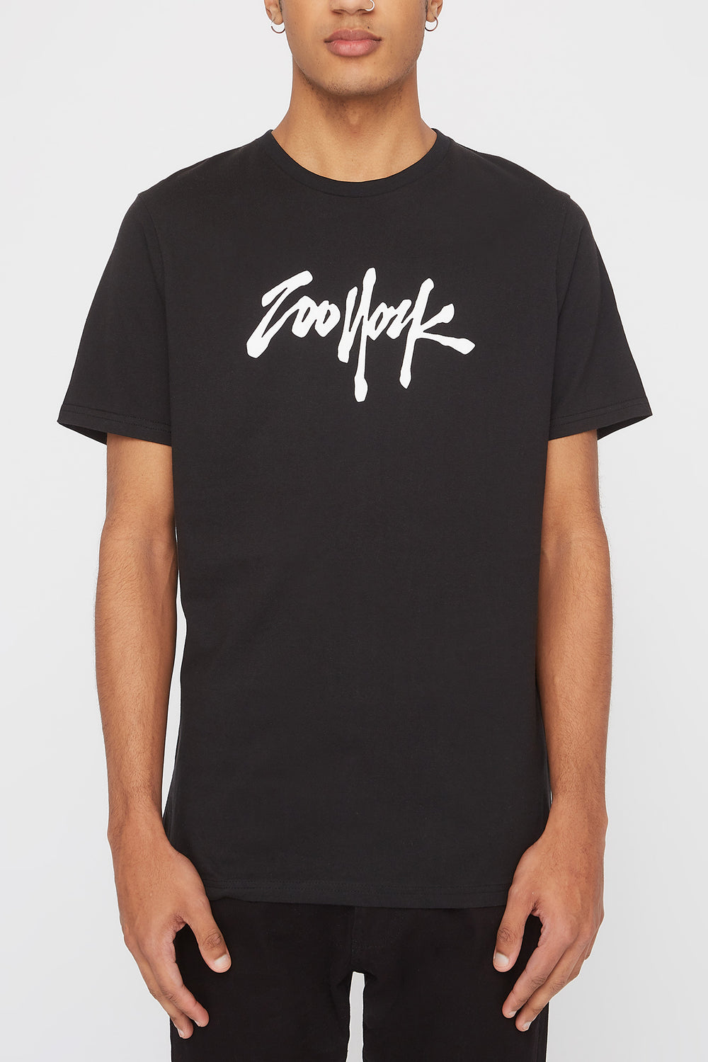 T-Shirt Quartiers NYC Zoo York Homme Noir
