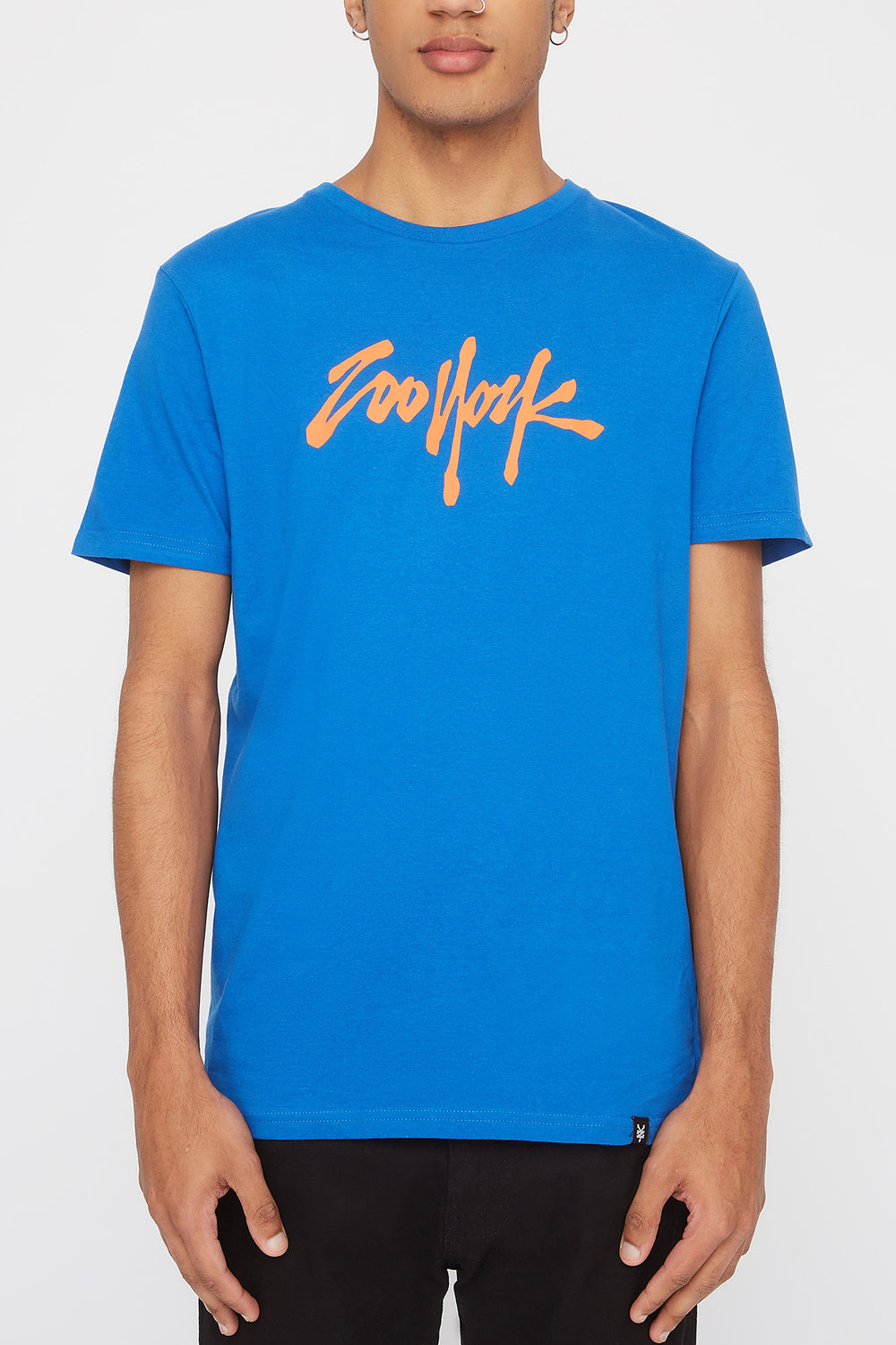 T-Shirt Quartiers NYC Zoo York Homme Bleu
