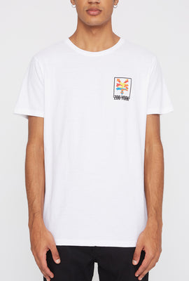 Zoo York Mens Rainbow Camo Logo T-Shirt