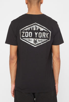 T-Shirt Logo Camouflage Zoo York Homme