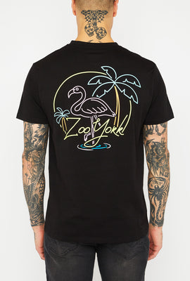 T-Shirt Homme Néon Tropical Zoo York