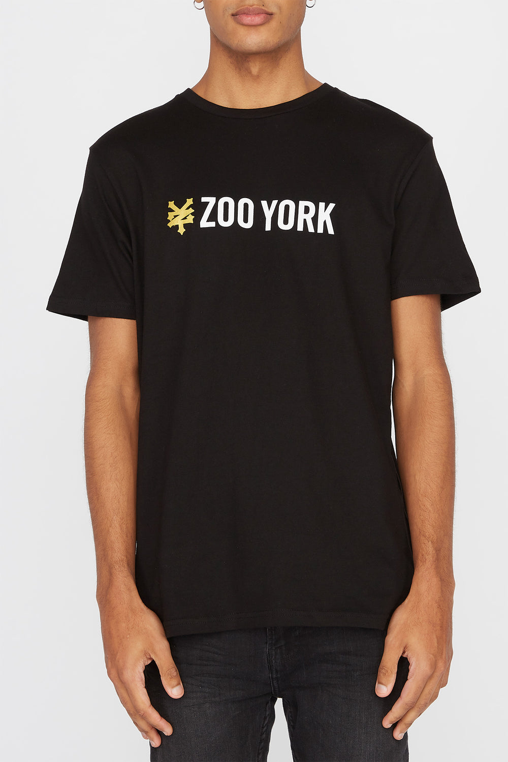 Zoo York Mens Classic Logo T-Shirt Black