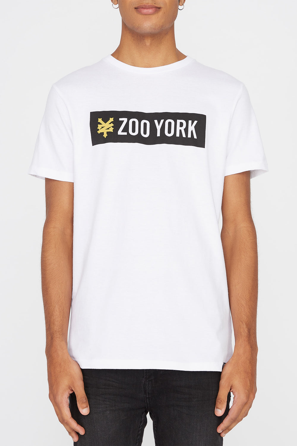 Zoo York Mens Classic Logo T-Shirt White