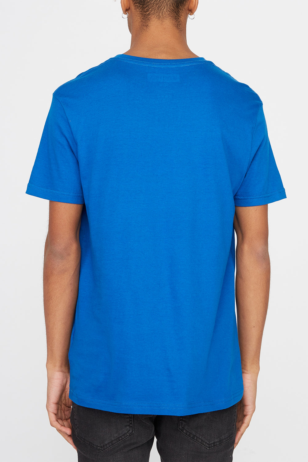 Zoo York Mens Classic Logo T-Shirt Blue