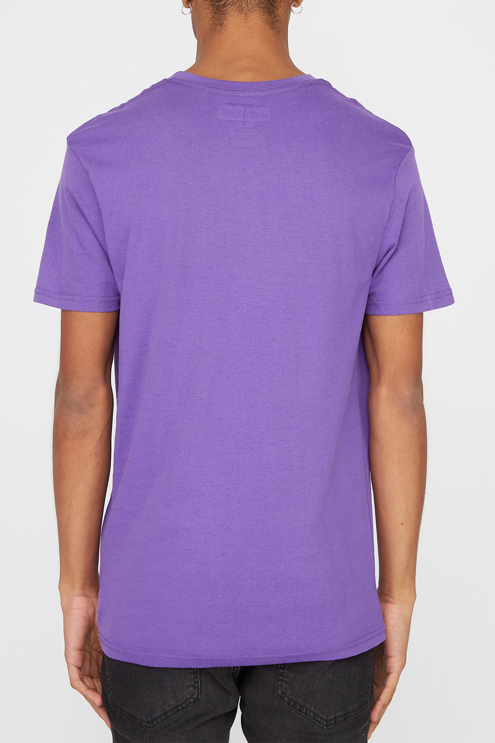 Zoo York Mens Classic Logo T-Shirt Purple