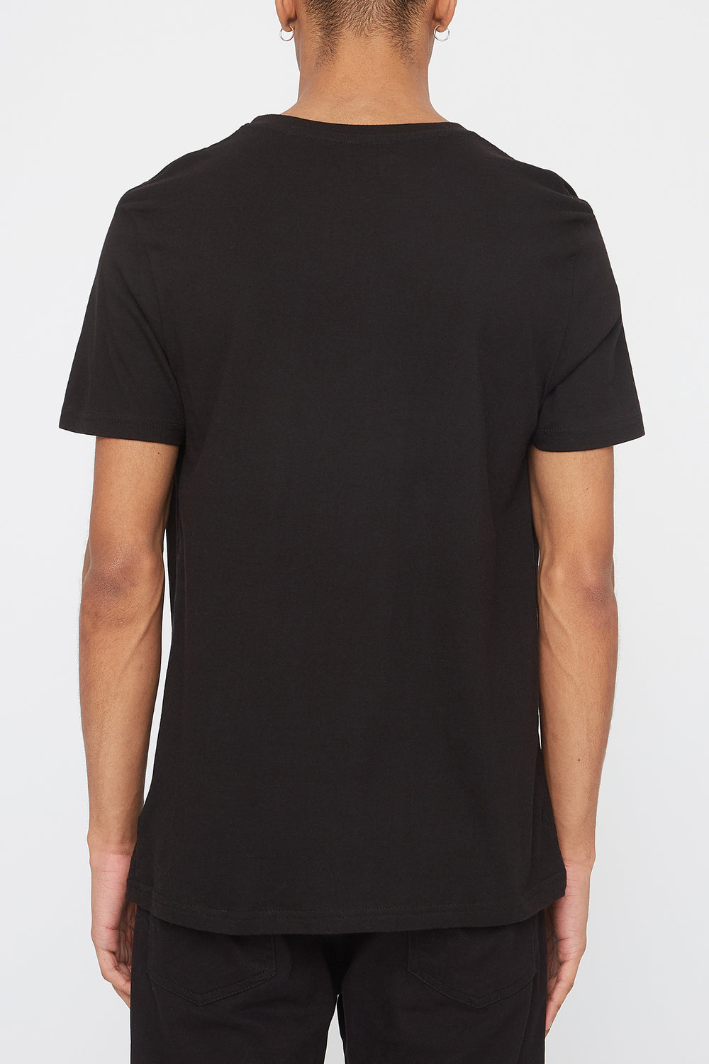 Young & Reckless Men Gradient Logo T-Shirt Black