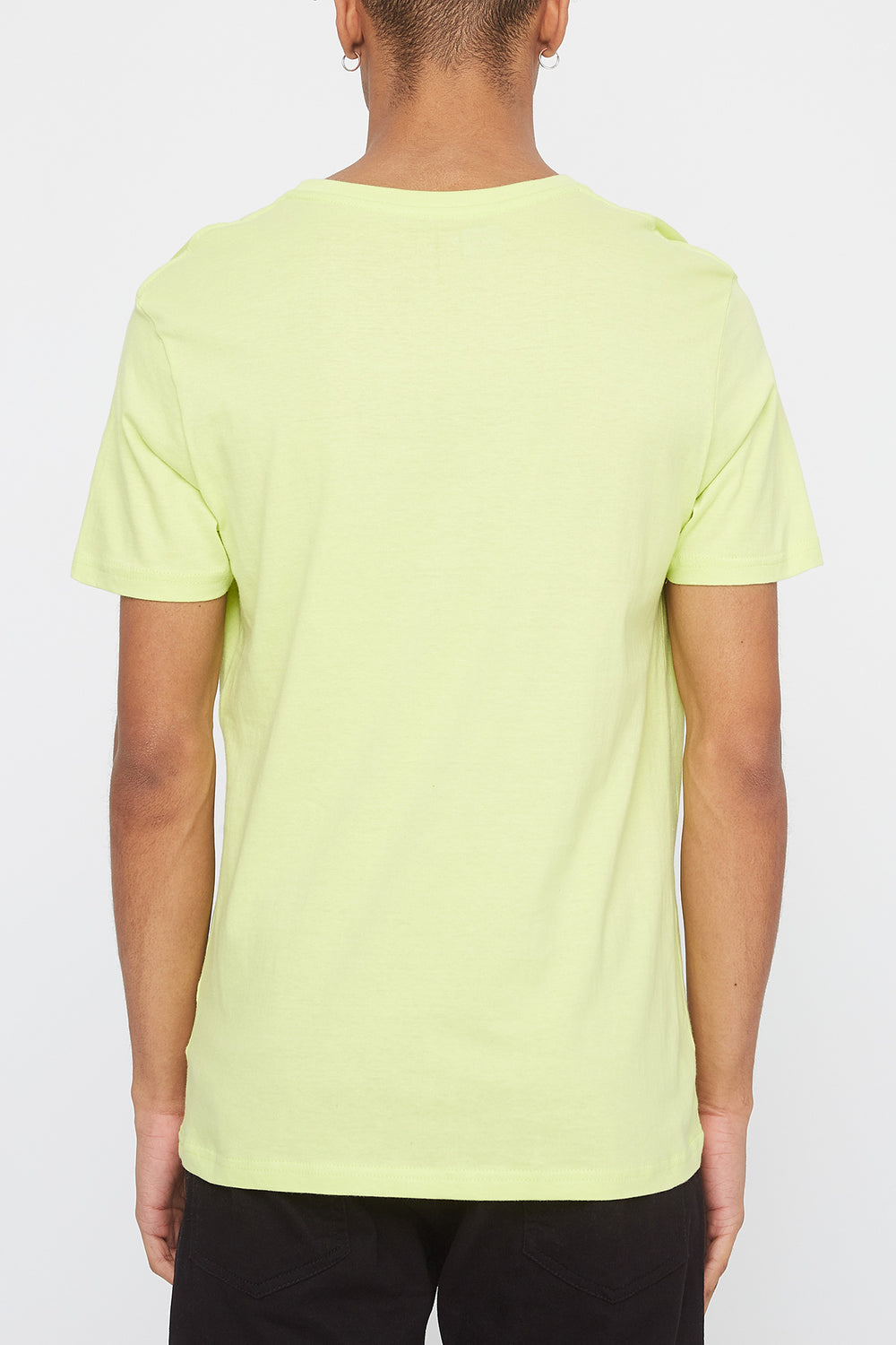 T-Shirt Logo Gradient Young & Reckless Homme Vert fluo