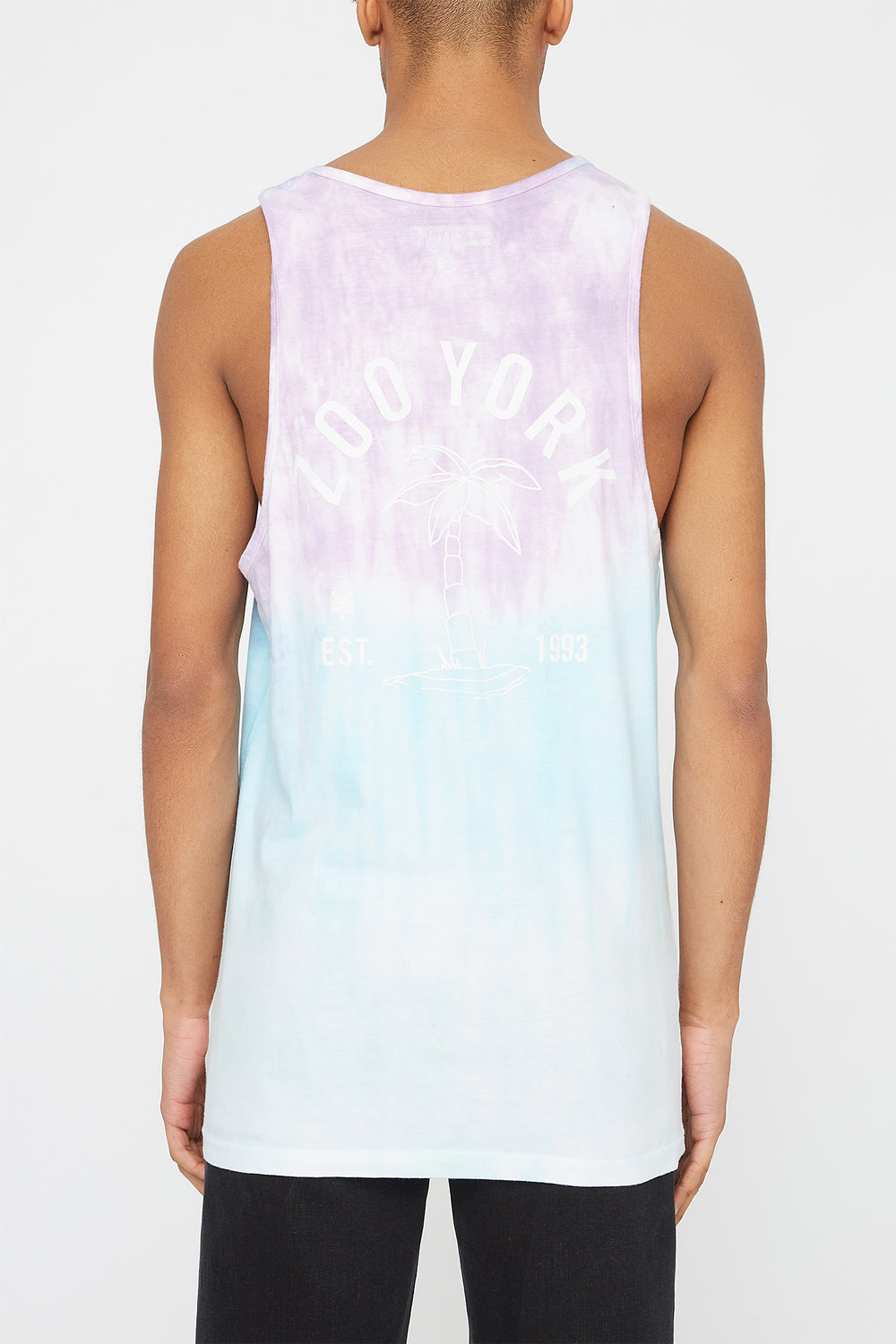 Camisole Palmier Zoo York Homme Violet