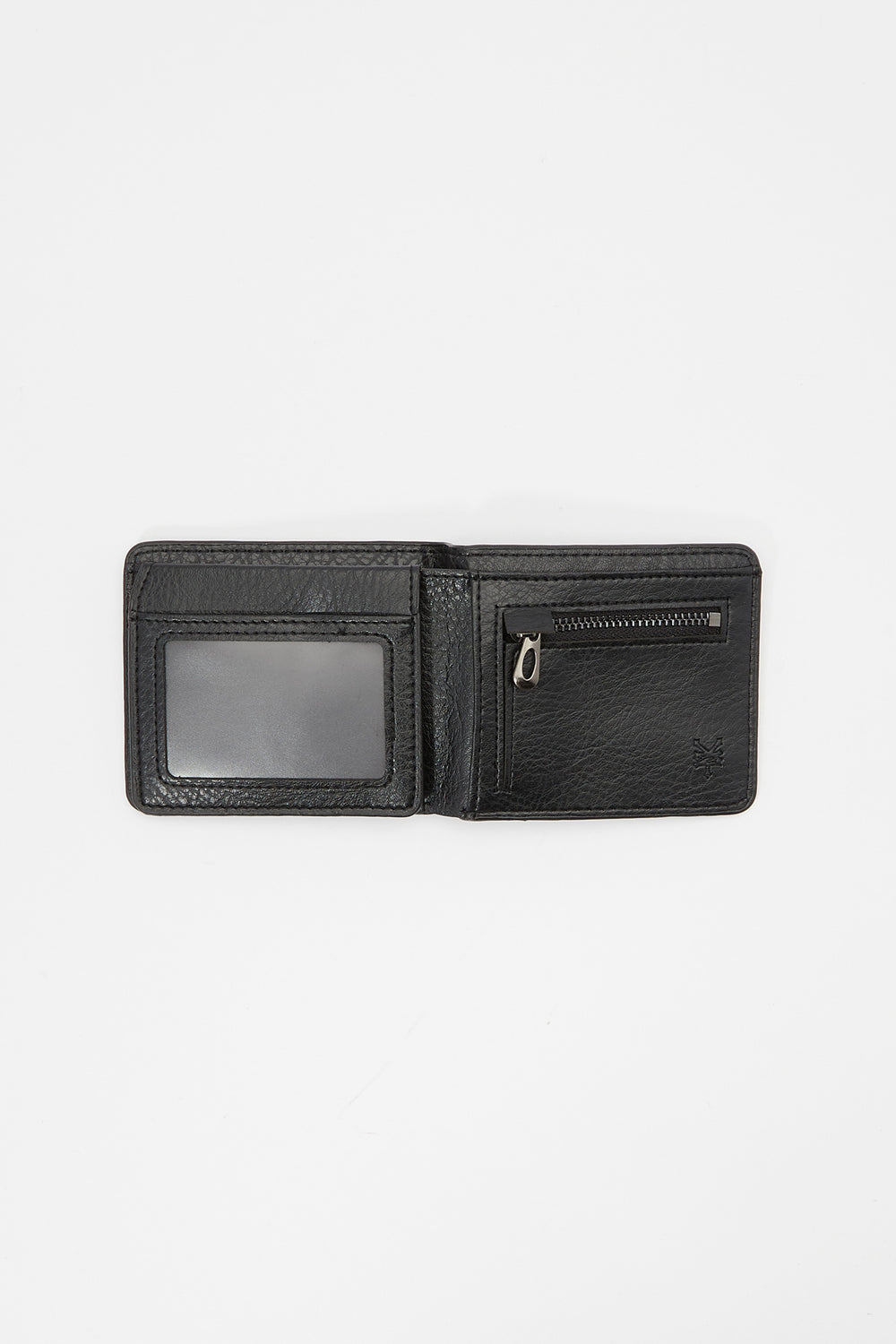 Zoo York Mens Faux Leather Wallet Black