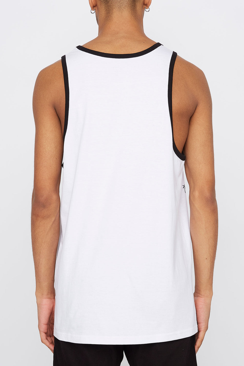 West49 Mens Pocket Tank Top White