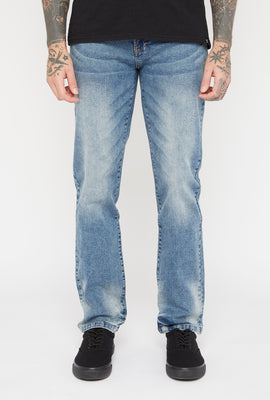 Zoo York Mens Slim Light Wash Jeans