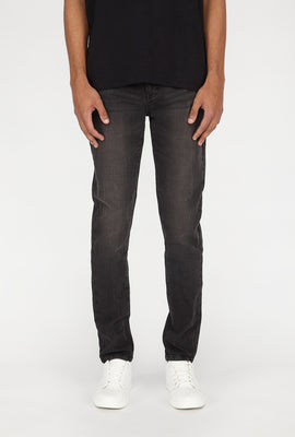 Jean Filiforme Noir Zoo York Homme