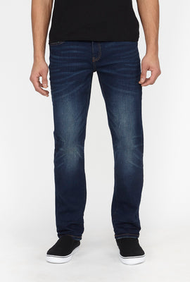 Zoo York Mens Slim Dark Blue Jeans