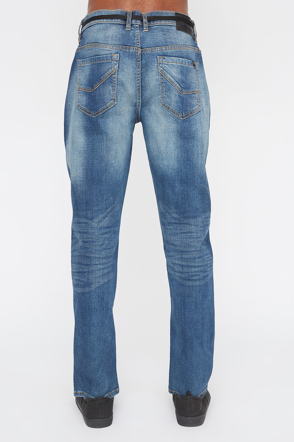 Zoo York Mens Stretch Slim Jeans Medium Blue
