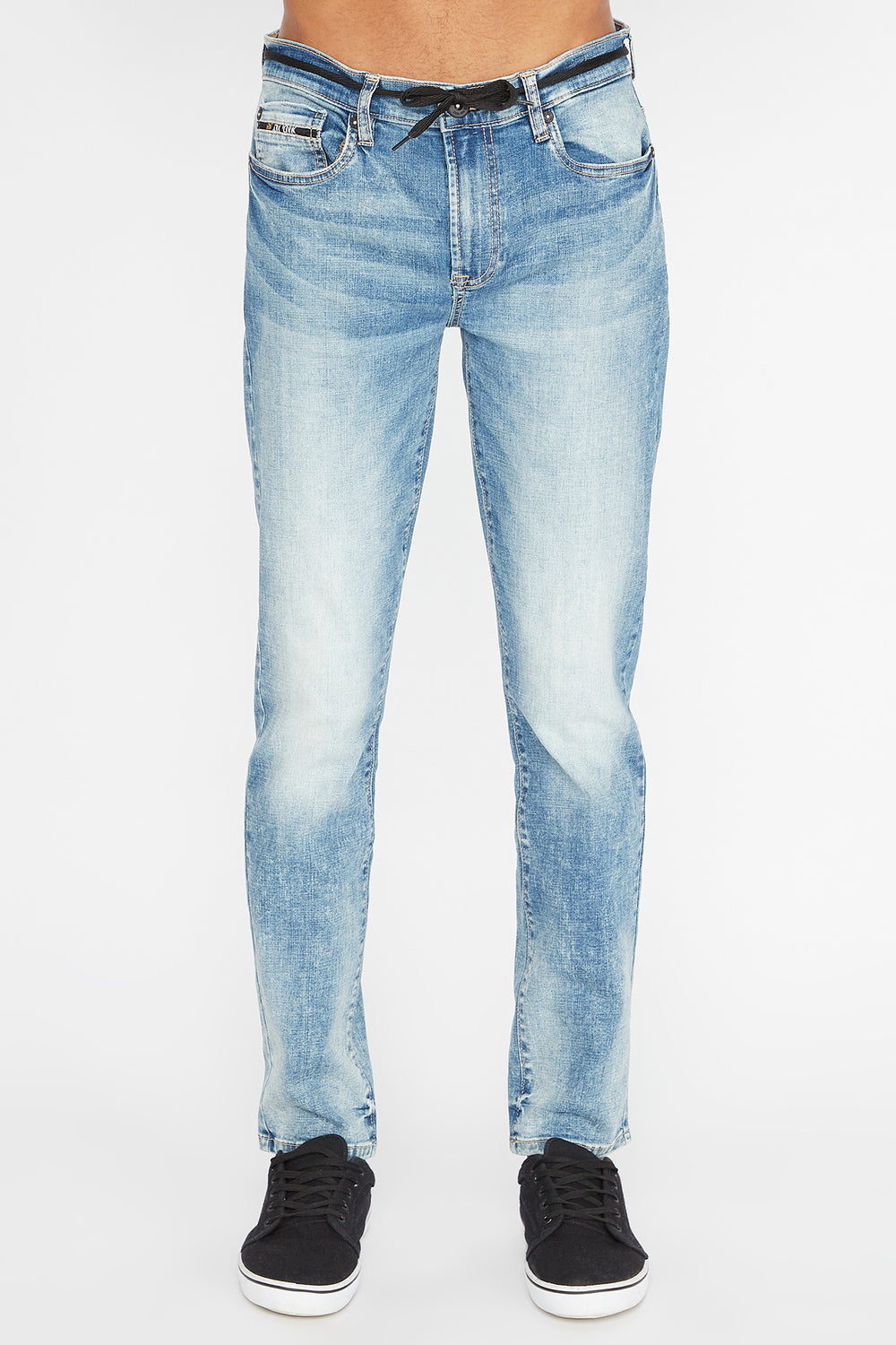 Jean Filiforme Zoo York Homme Bleu pale