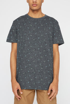 West49 Mens Ditsy Print T-Shirt