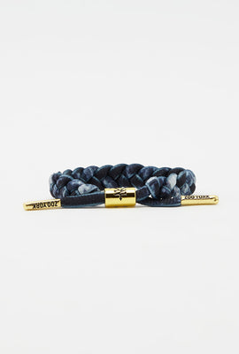 Zoo York Gold Tipped Braid Bracelet