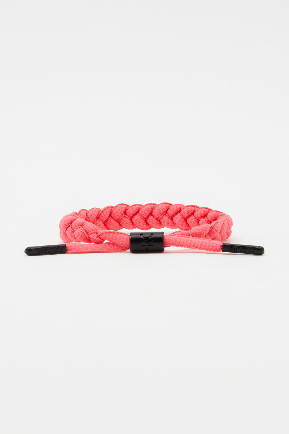 Zoo York Neon Braid Bracelet Pink