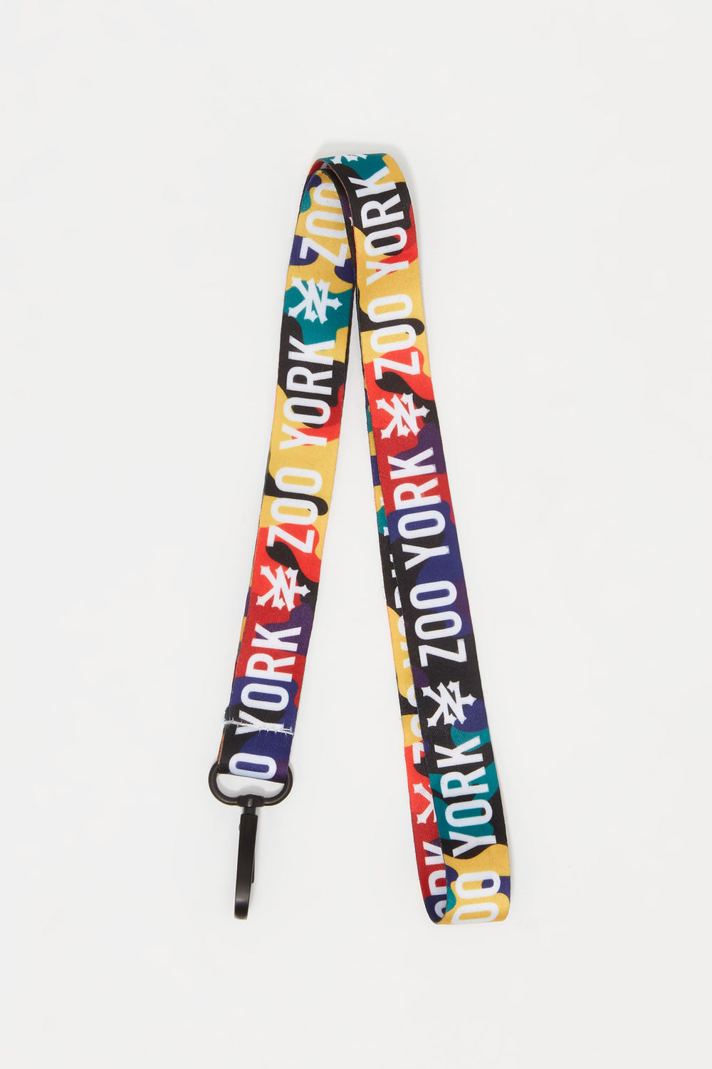 Zoo York Rainbow Camo Lanyard Multi